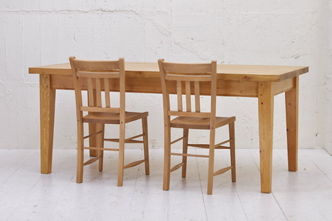 T3SQ (W1500 白金展示中) 2インチスクエアトップダイニングテーブル