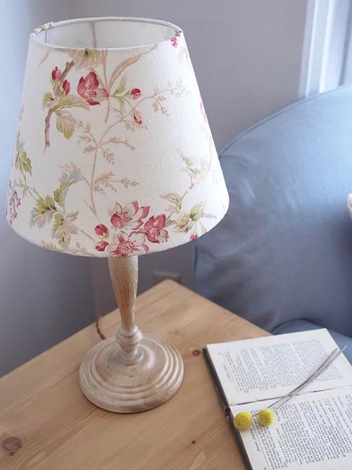 テーブルランプ 花柄2