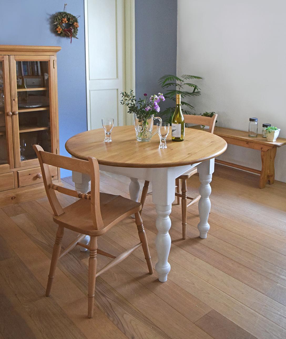 ペイント丸テーブル-1