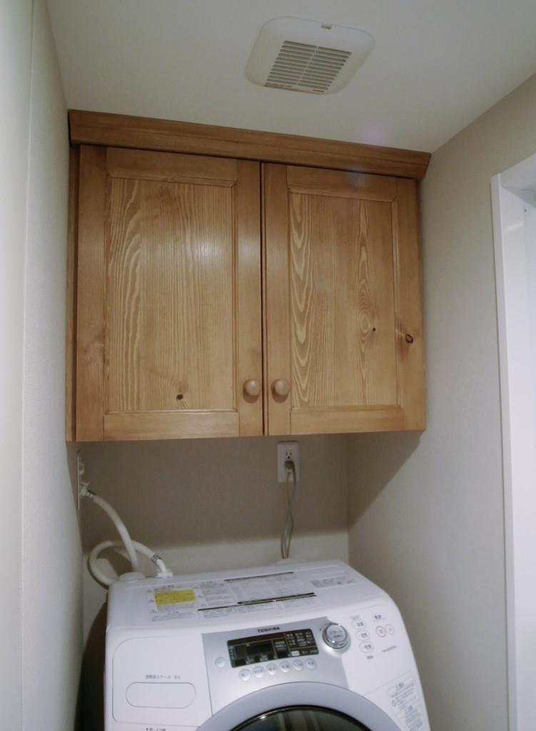 オーダーメイド洗面棚